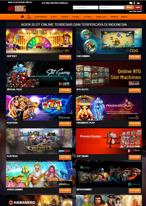 mpo500 slot online
