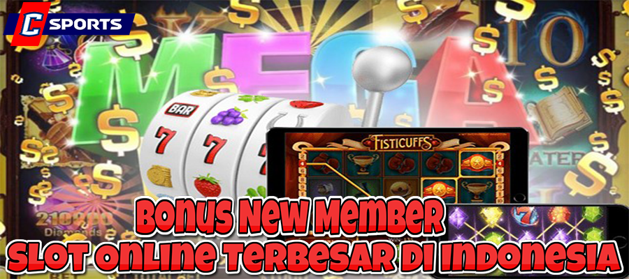 Bonus New Member Slot